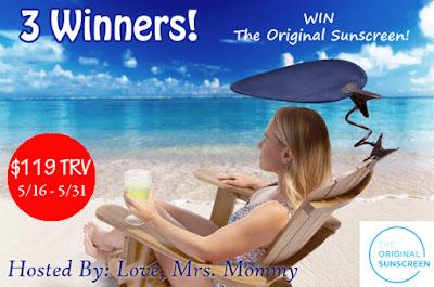 Enter The Original Sunscreen Giveaway. Ends 5/31