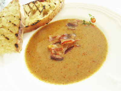 Juha od krumpira i gljiva / Potato and mushroom soup
