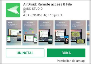 Mengendalikan Hp Android dari PC Laptop 1