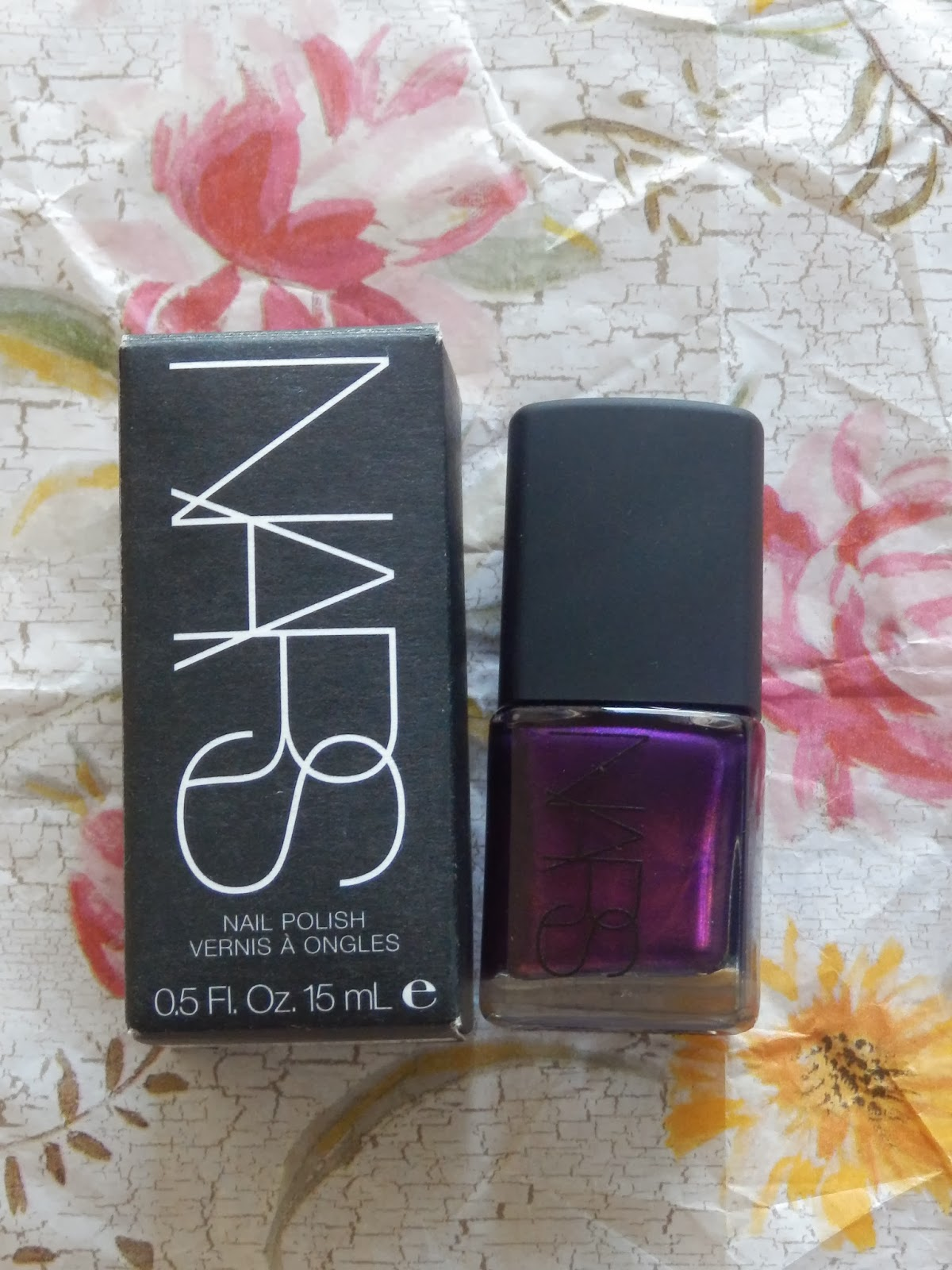 NARS nail polish called Purple Rain