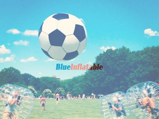 A Fun Bubble Soccer Game Equipment from BlueInflatable.com