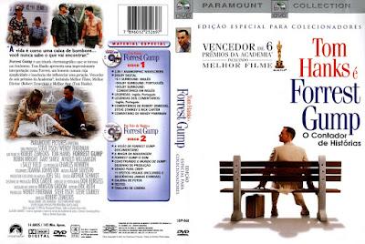 Filme Forrest Gump - O Contador de Histórias DVD Capa