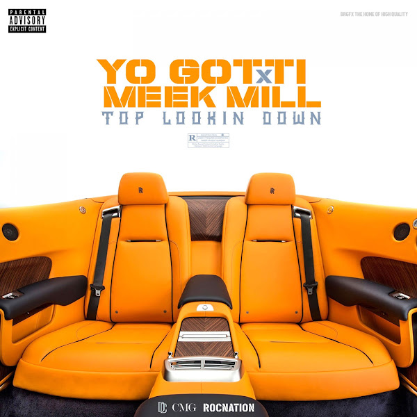 Yo Gotti - Top Looking Down (feat. Meek Mill) - Single Cover