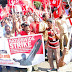 श्रमिक हड़ताल का मिला जुला असर   Mixed effect of labor strike