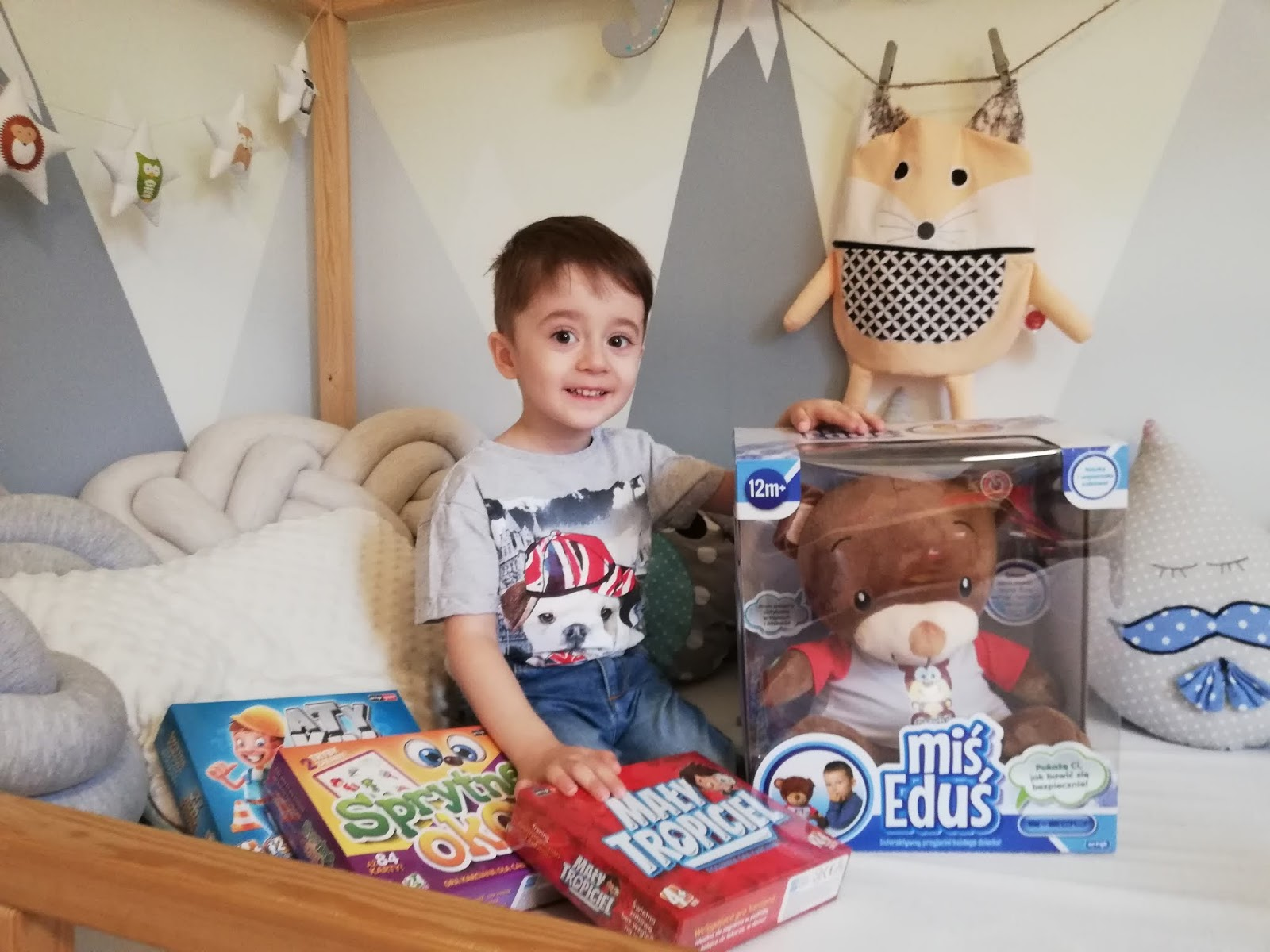 Miś Eduś, czyli interaktywna zabawka, która wniesie coś pożytecznego w życie dziecka