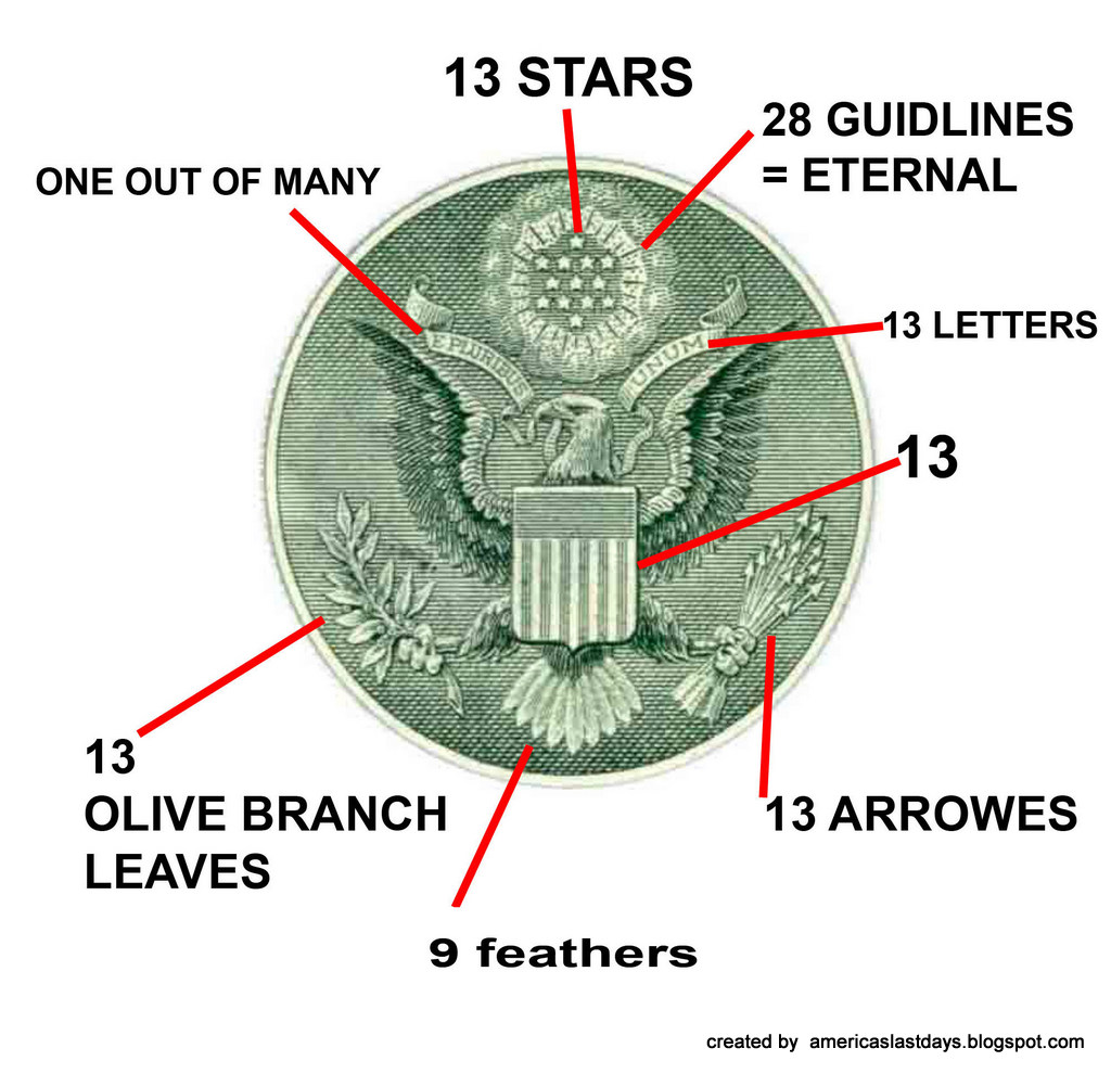 Prophecy: Hidden Symbolism of the Dollar - cambraza - photo#33