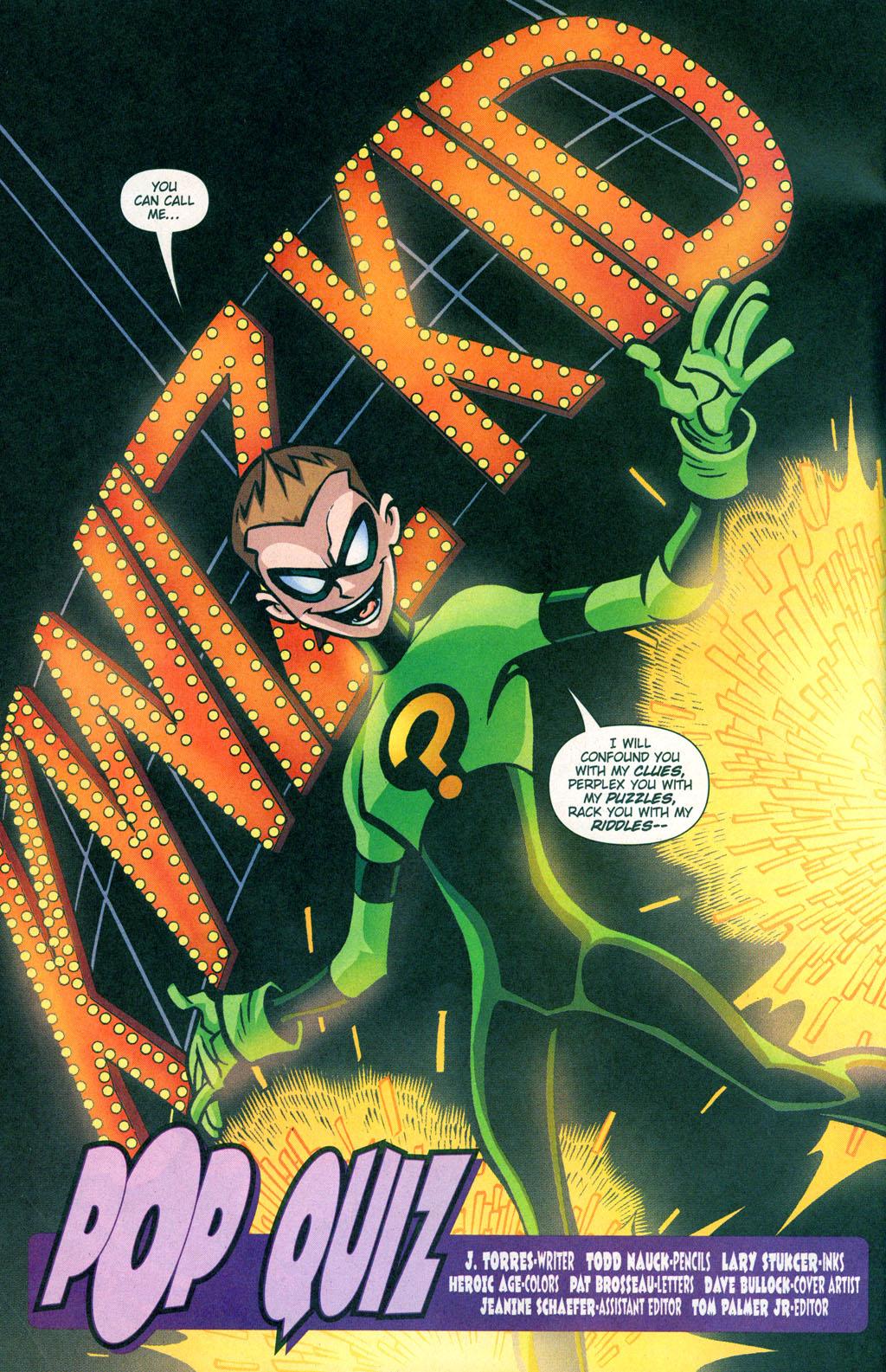 Teen Titans Quizzes 47
