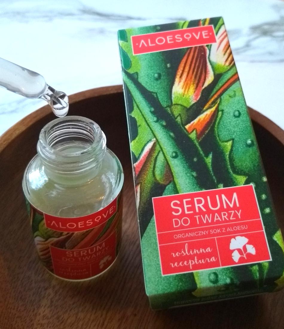 Aloesove Serum do twarzy recenzja blog