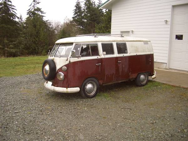 1966 VW Bus Double-Door