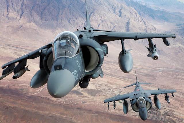 Turkey US Marines Harrier F-35B