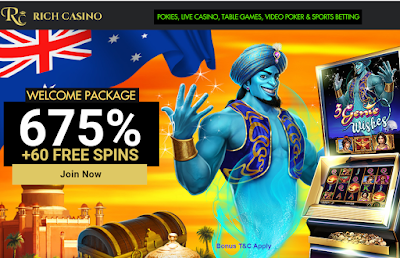 Rich Casino Welcome Bonus Package