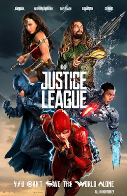 Justice League Final Theatrical One Sheet Movie Poster