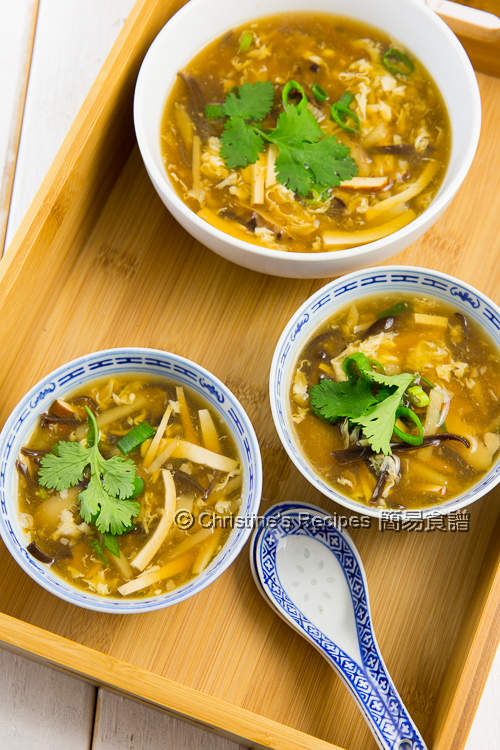 Vegetarian Hot and Sour Soup03