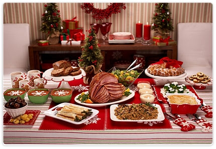 Delicious Christmas Dinner & Party