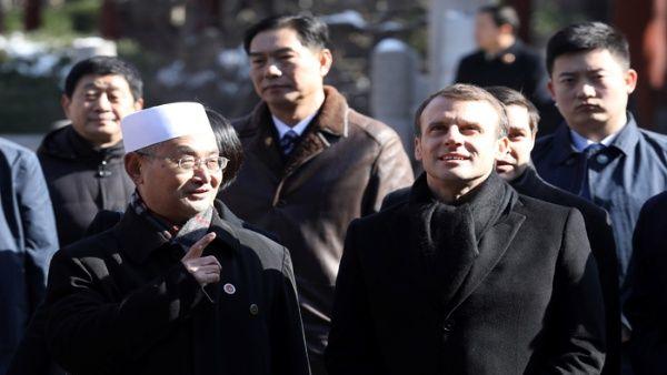 Macron inicia su visita a China por la Ruta de la Seda