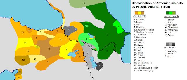 """El armenio occidental tendrá el código ISO """"hyw"""""""