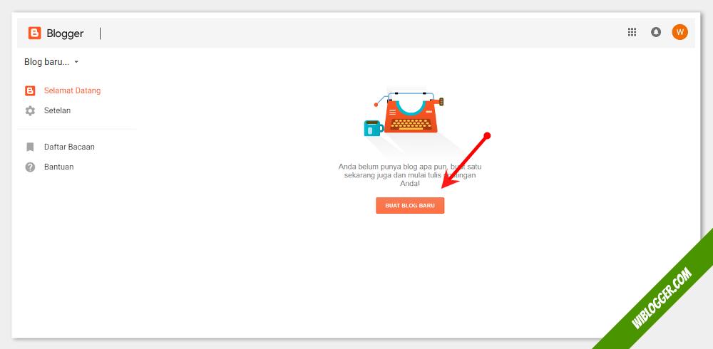 panduan membuat blog dengan mudah dan cepat