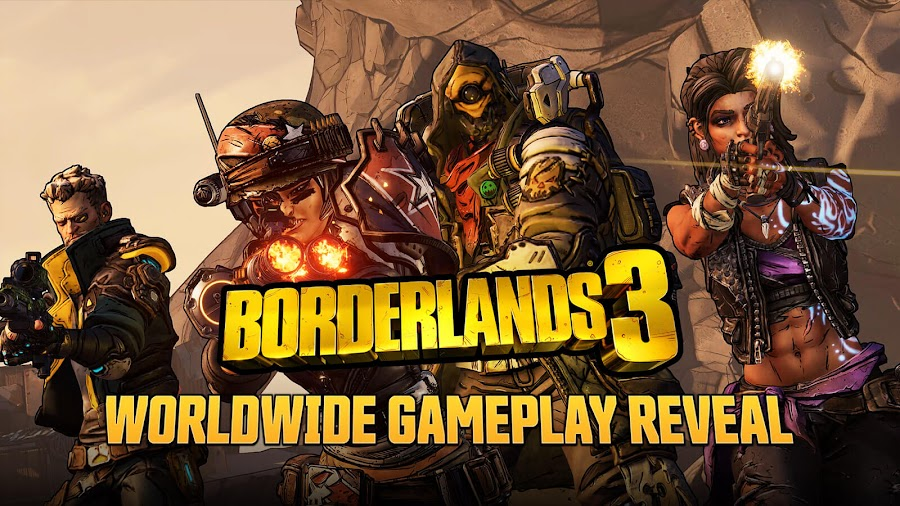 borderlands 3 gameplay reveal preview gearbox pc ps4 xb1