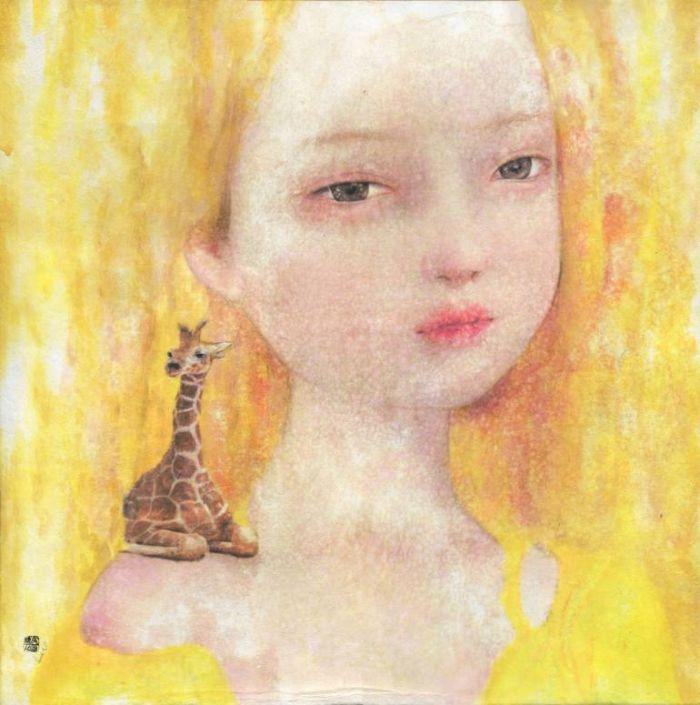 Я люблю рисовать детей и женщин. Seungeun Suh