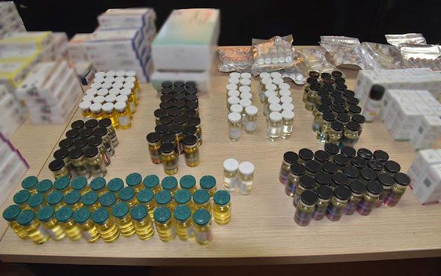 Έντεκα συλλήψεις για διακίνηση και διάθεση παράνομων και απαγορευμένων αναβολικών ουσιών