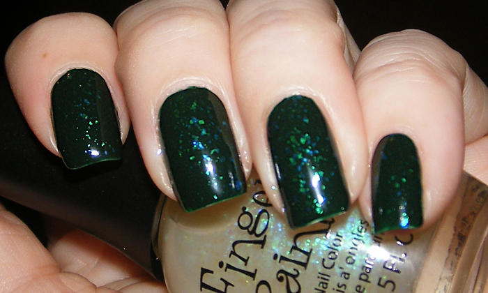 xoxoJen's swatch of Sinful Colors Last Chance Fingerpaints Motley