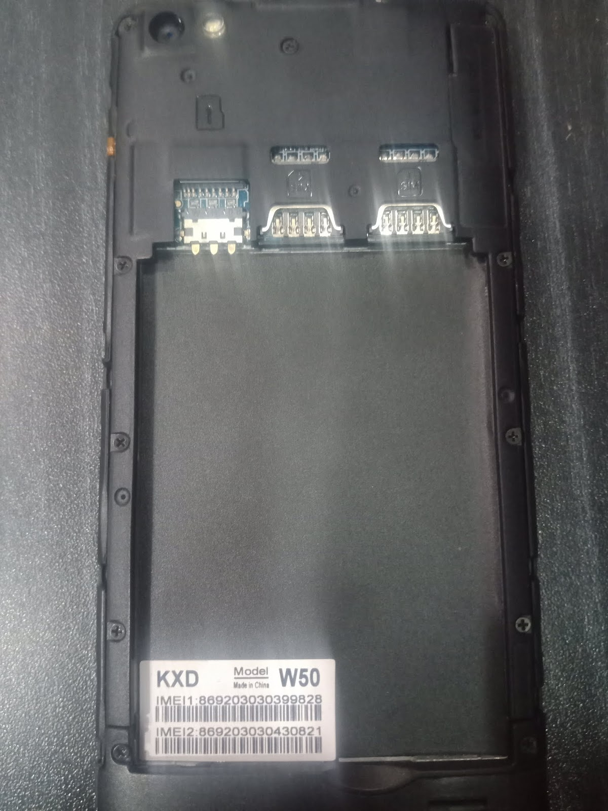 GSM GOOD FLASH FILE: KXD W50 MT6580 Flash File Hang On Logo Fixed