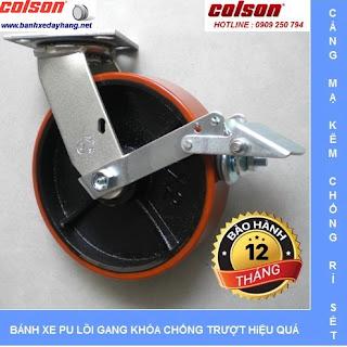 Bánh xe đẩy SP Caster Colson, bánh xe PU, bánh xe Nylon, bánh xe cao su www.banhxedayhang.net