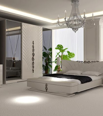 modern wooden furniture designs for bedroom interior