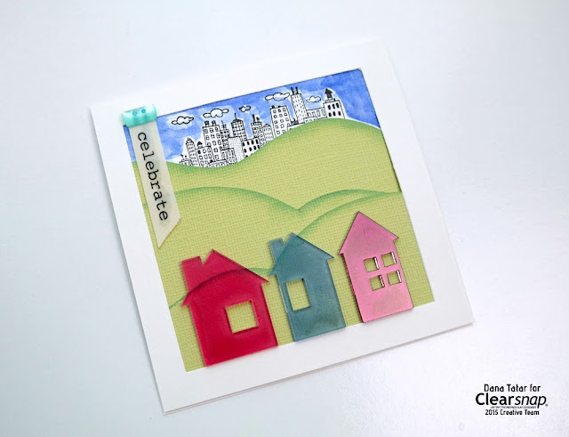 Celebrate Housewarming Card by Dana Tatar for Clearsnap