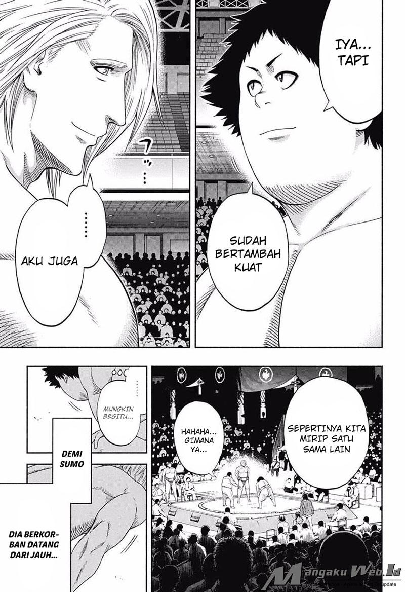 Hinomaru Zumou Chapter 143-7