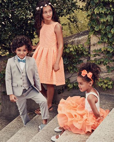 vestidos pantalones y chaquetas para niños y niñas H&M primavera verano