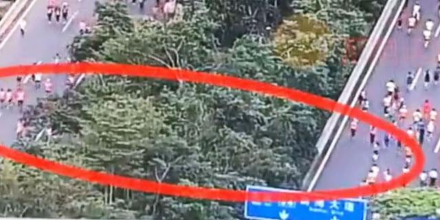 VIDEO: Kecurangan dalam Lomba Maraton di China Terekam Kamera