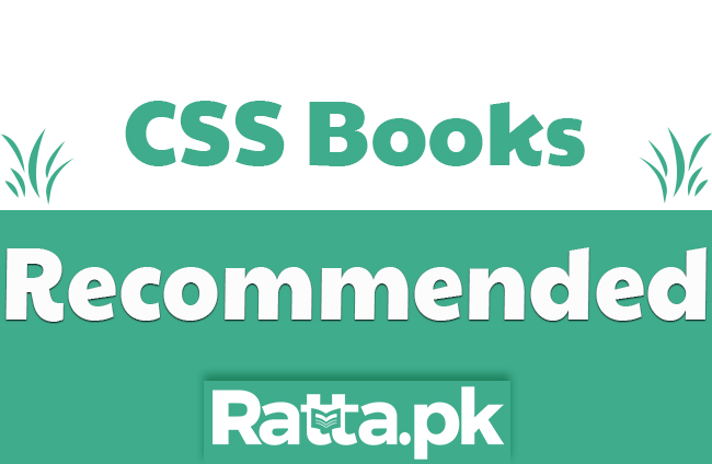 CSS Recommended Books list for Preparation 2020 All Subjects