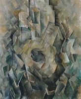 Cubismo Analítico - 'La guitarra' de Braque