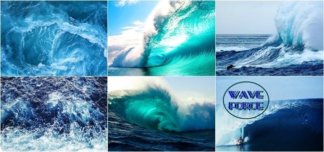 photos of big waves