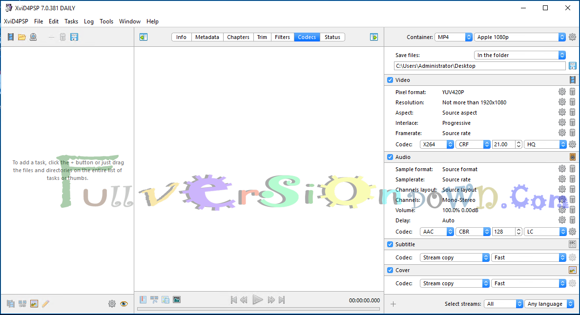 XviD4PSP Full Version