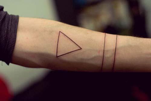 geometrik bilek dövmeleri geometric wrist tattoos 2