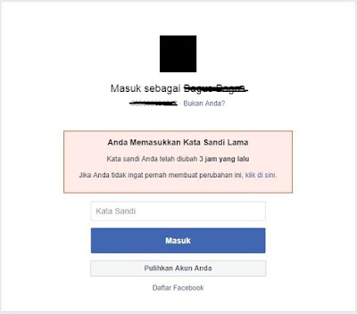 password, kata sandi, login, facebook