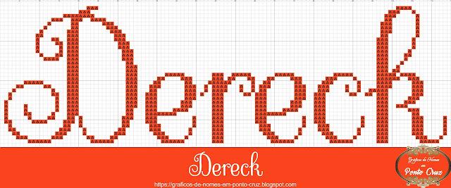 Nome Dereck em Ponto Cruz