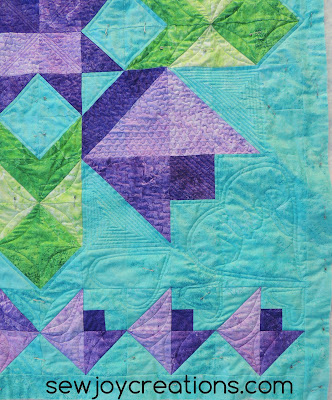 sleep quadrant quilting