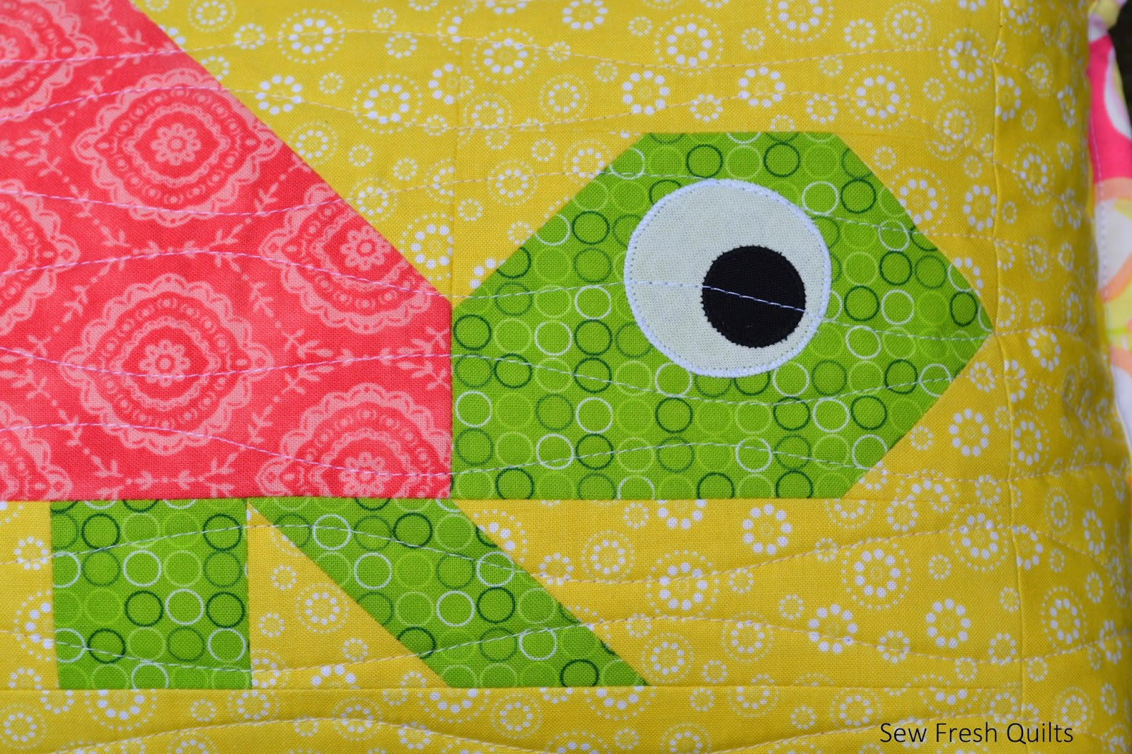 sew fresh quilts happy turtle zippered pillow