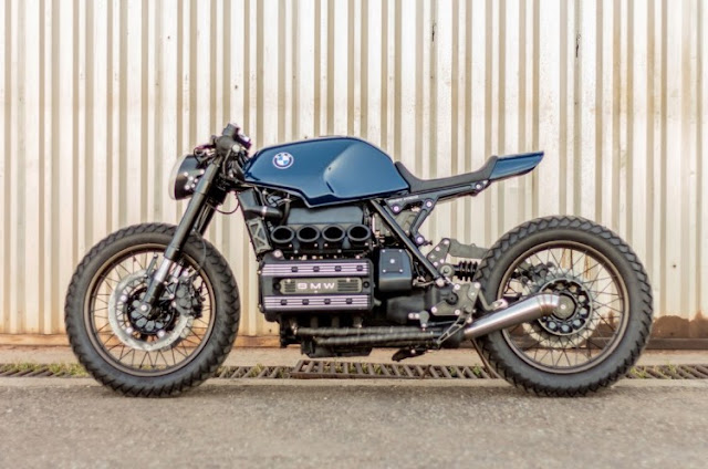 BMW K100 By Retrorides Hell Kustom