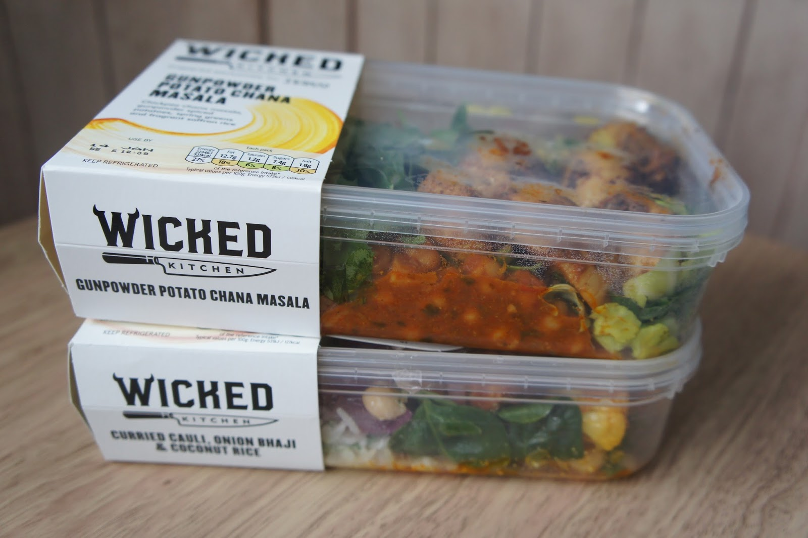 wicked kitchen vegan ready meal