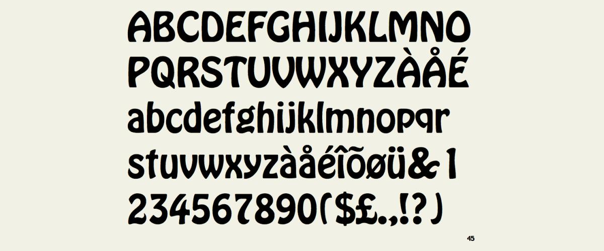 Kumpulan Font Terbaik Untuk Desain Sticker - Hobo