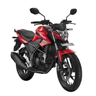 Honda CB150R StreetFire Quantum Red