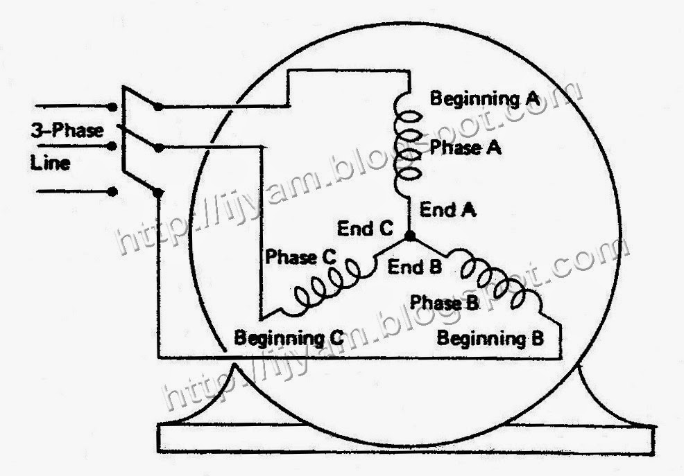 Polyphase Motor Diagram