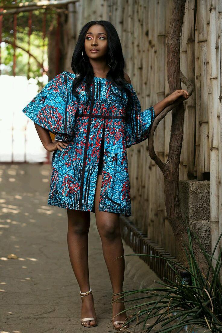 Plus Size Maxi African fashion Ankara style