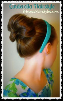 Cinderella hairstyle, video tutorial