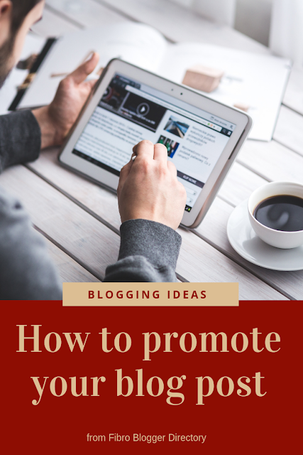 How to promote your blog post
