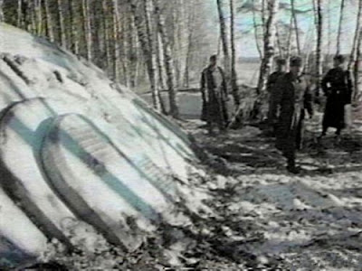 UFOs have been recovered in Russia before so it's nothing new to them, it's just a very big place to get to them.
